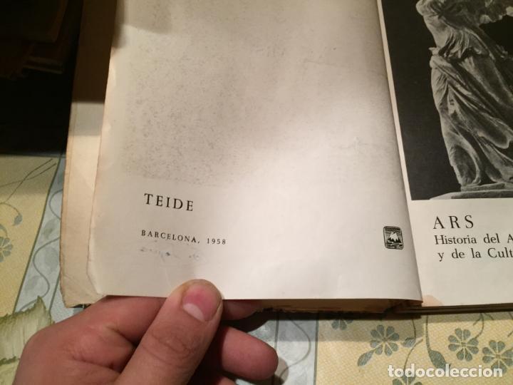 Libros de segunda mano: Antiguo libro ARS Historia de la cultura por E. Bagué y J. Vicens año 1958 - Foto 4 - 157961386