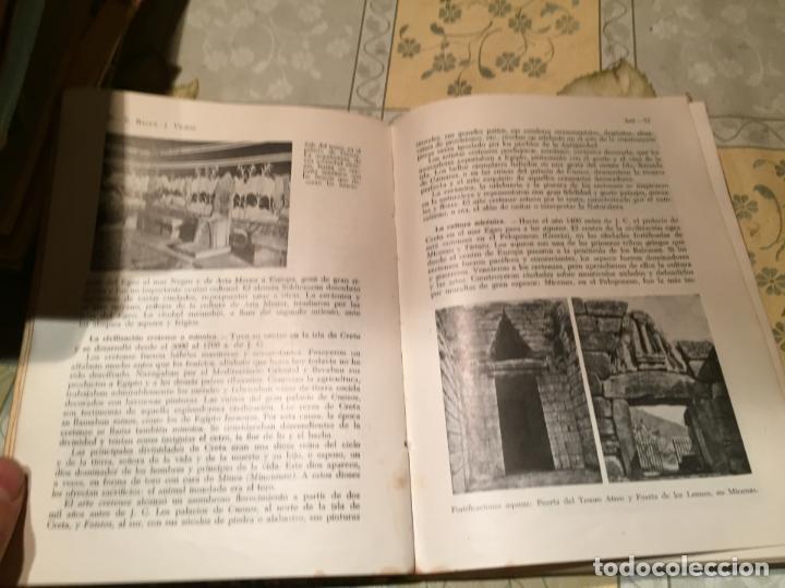 Libros de segunda mano: Antiguo libro ARS Historia de la cultura por E. Bagué y J. Vicens año 1958 - Foto 5 - 157961386