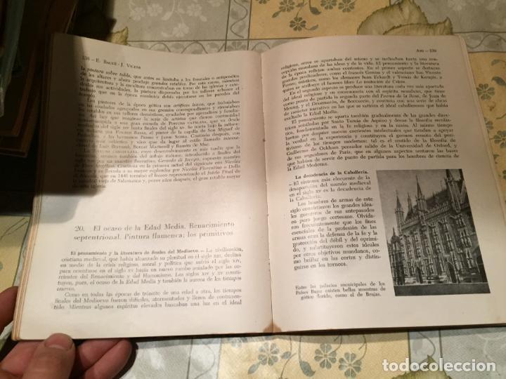 Libros de segunda mano: Antiguo libro ARS Historia de la cultura por E. Bagué y J. Vicens año 1958 - Foto 6 - 157961386