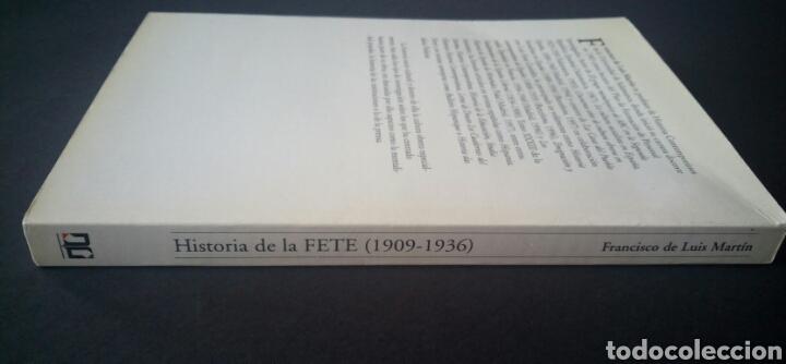 Libros de segunda mano: CTC - 1ª EDICION - HISTORIA DE LA FETE 1909 - 1936 - FONDO EDITORIAL DE ENSEÑANZA - LUIS MARTIN - Foto 3 - 158857366