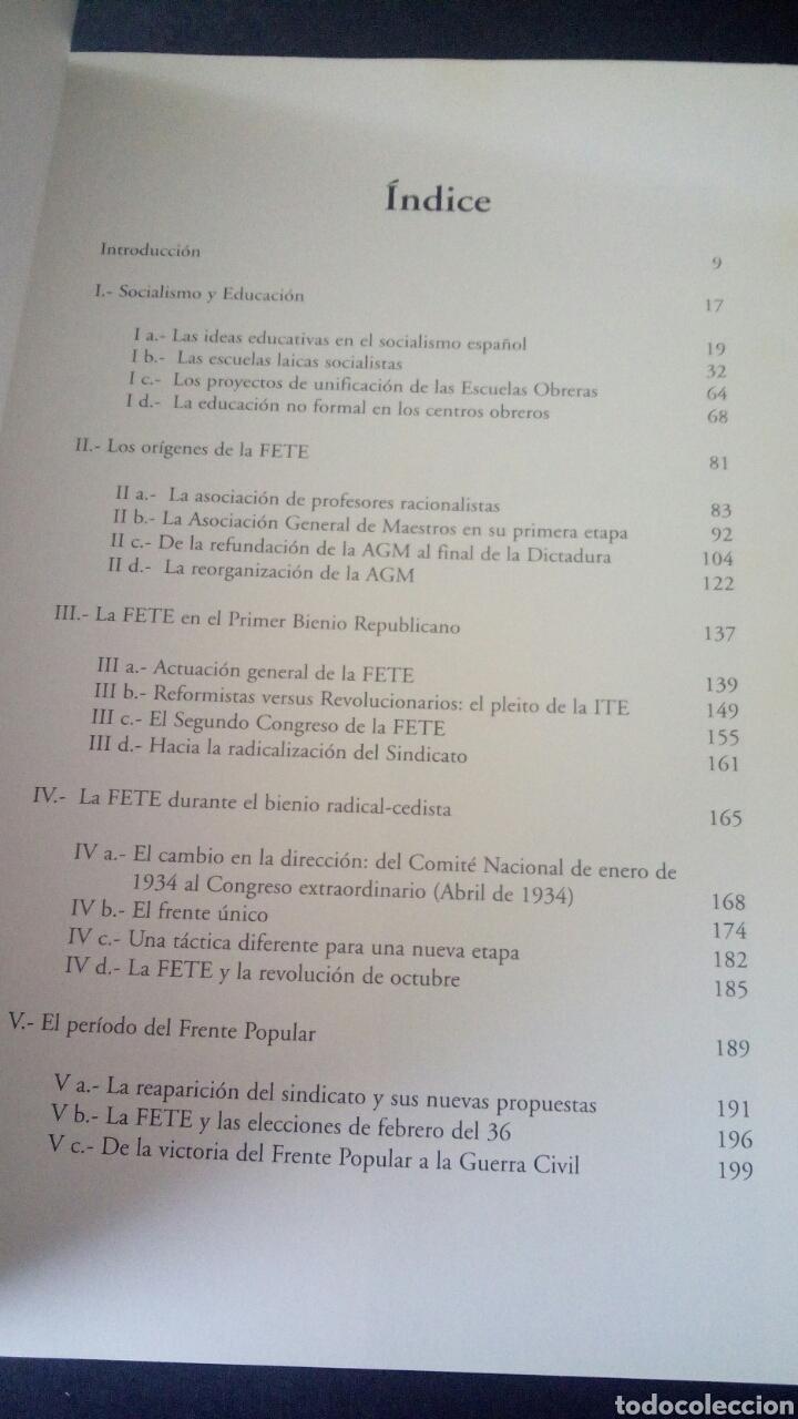 Libros de segunda mano: CTC - 1ª EDICION - HISTORIA DE LA FETE 1909 - 1936 - FONDO EDITORIAL DE ENSEÑANZA - LUIS MARTIN - Foto 7 - 158857366