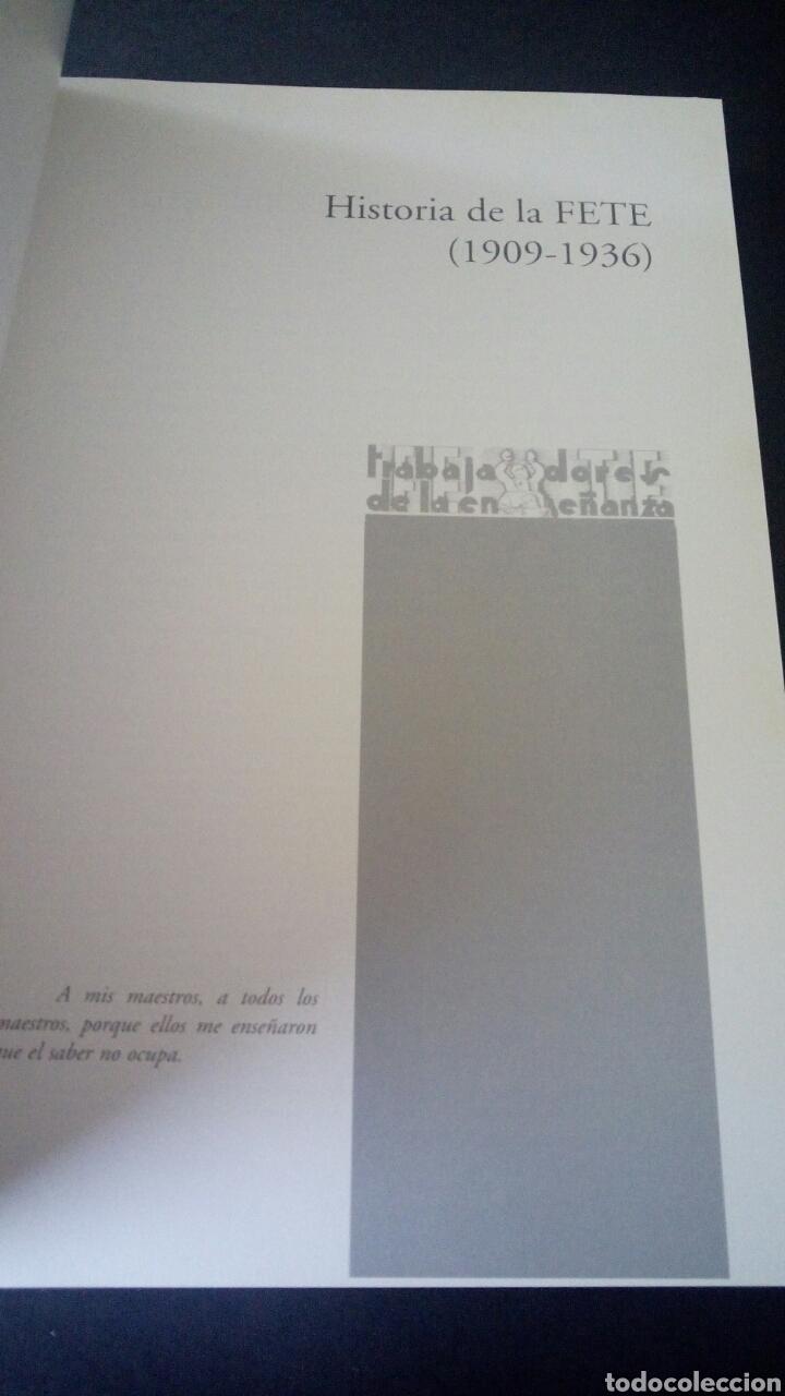 Libros de segunda mano: CTC - 1ª EDICION - HISTORIA DE LA FETE 1909 - 1936 - FONDO EDITORIAL DE ENSEÑANZA - LUIS MARTIN - Foto 8 - 158857366