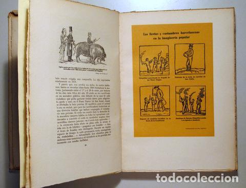 Libros de segunda mano: ALMERICH, Luis - TRADICIONES, FIESTAS Y COSTUMBRES POPULARES DE BARCELONA - Barcelona 1944 - Ilustra - Foto 2 - 159332265