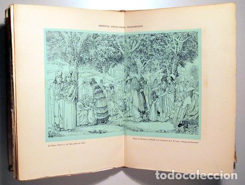 Libros de segunda mano: VALLESCAS, Antonio - LAS CALLES DE BARCELONA DESAPARECIDAS - Barcelona 1945 - Ilustrado - Papel de h - Foto 3 - 159332269