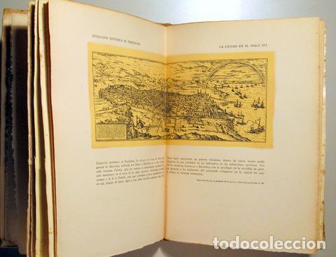 Libros de segunda mano: VALLESCAS, Antonio - LAS CALLES DE BARCELONA DESAPARECIDAS - Barcelona 1945 - Ilustrado - Papel de h - Foto 4 - 159332269