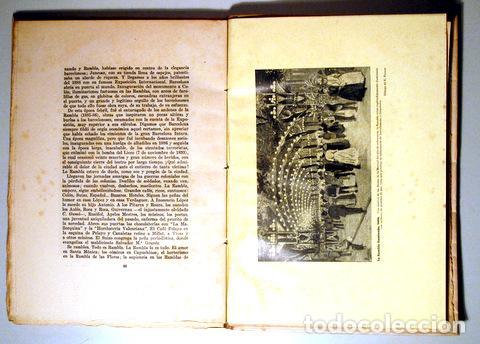 Libros de segunda mano: ALMERICH, Luis - LA RAMBLA DE BARCELONA su historia urbana y sentimental - Barcelona 1945 - Ilustrad - Foto 3 - 159332277