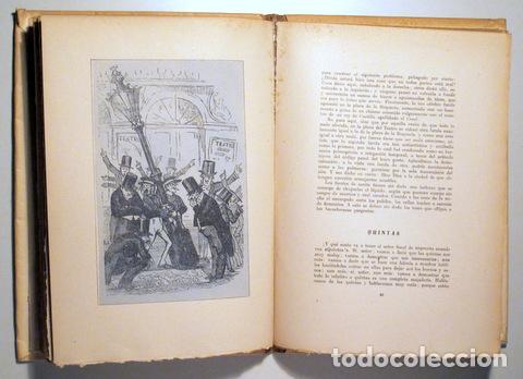 Libros de segunda mano: ANGELÓN, Manuel - GUÍA SATÍRICA DE BARCELONA 1854 - Barcelona 1946 - Ilustrado - Papel de hilo - Foto 3 - 159332301
