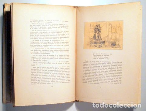 Libros de segunda mano: ANGELÓN, Manuel - GUÍA SATÍRICA DE BARCELONA 1854 - Barcelona 1946 - Ilustrado - Papel de hilo - Foto 4 - 159332301