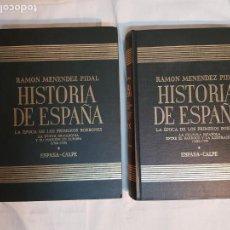 Libros de segunda mano: HISTORIA DE ESPAÑA DE RAMÓN MENÉNDEZ PIDAL, TOMO XXIX (I, II) LA ÉPOCA DE LOS PRIMEROS BORBONES. Lote 160462182