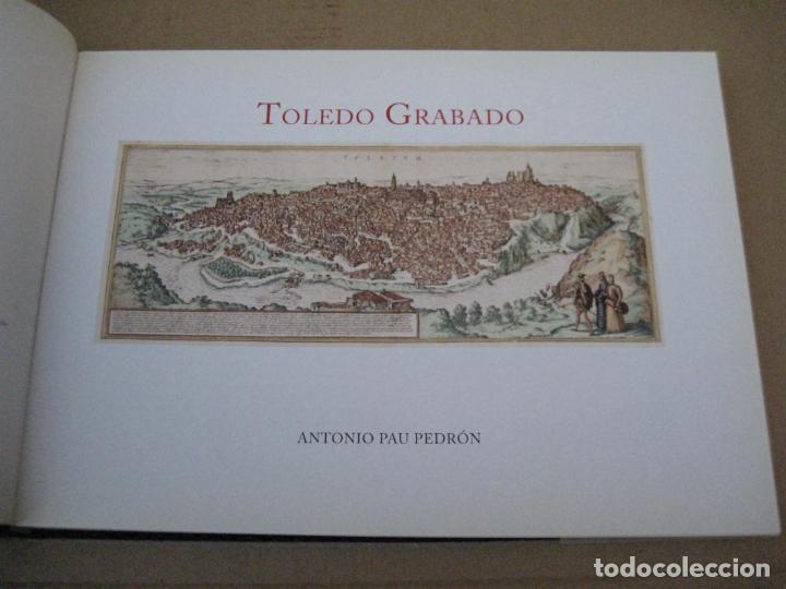 Libros de segunda mano: TOLEDO GRABADO. - Foto 2 - 160478738