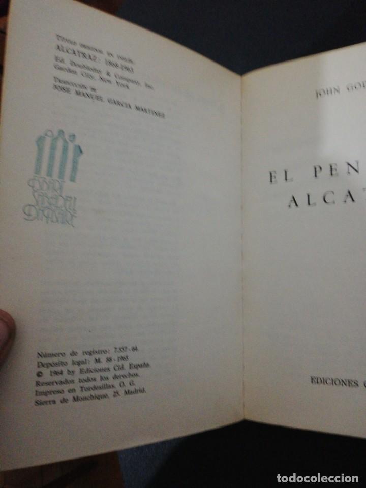 Libros de segunda mano: John godwin, el penal de alcatraz - Foto 4 - 160641966