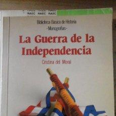 Libros de segunda mano: LA GUERRA DE LA INDEPENDENCIA (MADRID, 1990) BIBLIOTECA BÁSICA DE HISTORIA ANAYA. Lote 161371918