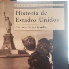 Libros de segunda mano: HISTORIA DE LOS ESTADOS UNIDOS. Lote 161706953