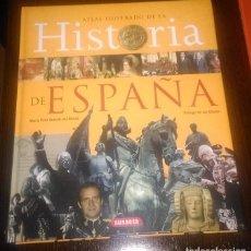 Libros de segunda mano: ATLAS ILUSTRADO DE HISTORIA DE ESPAÑA SUSAETA. Lote 162054082