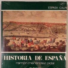 Libros de segunda mano: HISTORIA DE ESPAÑA, M. PIDAL. TOMO XXIII (23) CRISIS DEL SIGLO XVII. POBLACIÓN, ECONOMÍA, SOCIEDAD.. Lote 162826390