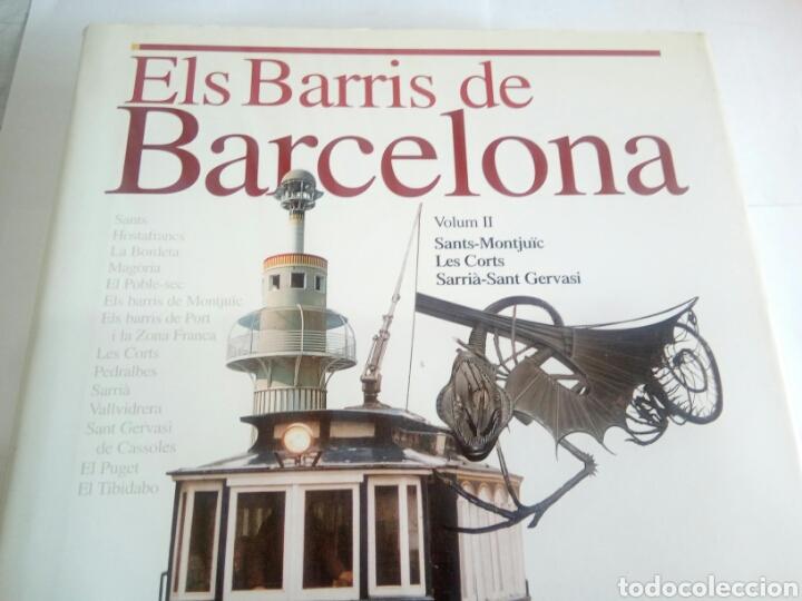 Libros de segunda mano: LIBRO ELS BARRÍS DE BARCELONA VOLUM II - Foto 2 - 162930352