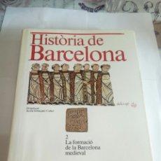 Libros de segunda mano: LIBRO HISTORIA DE BARCELONA. Lote 162932954
