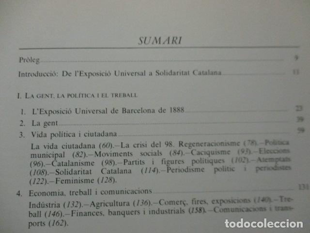 Libros de segunda mano: Història Gràfica de la Catalunya Contemporàneia - de l´Exposicio Universal - Edmon Vallès - Ed 62 - Foto 13 - 163401958