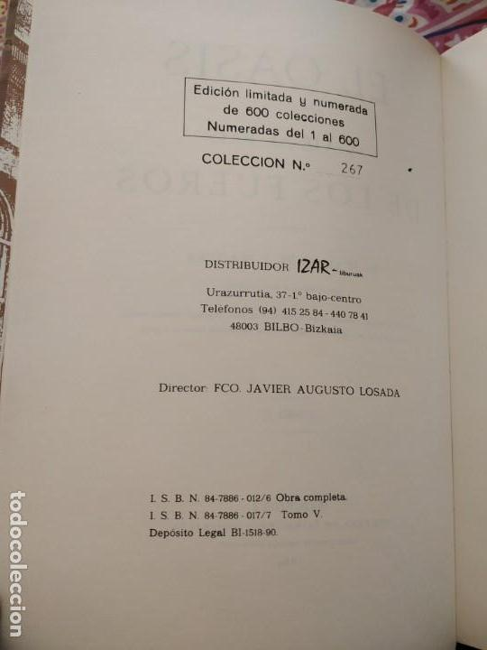 Libros de segunda mano: EL OASIS - VIAJE AL PAÍS DE LOS FUEROS - JUAN MAÑE Y FLAQUER 6 TOMOS COMPLETA EUSKADI NAVARRA - Foto 12 - 164937202