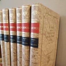 Libros de segunda mano: EL OASIS - VIAJE AL PAÍS DE LOS FUEROS - JUAN MAÑE Y FLAQUER 6 TOMOS COMPLETA EUSKADI NAVARRA. Lote 164937202