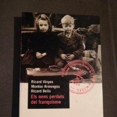 Libros de segunda mano: ELS CATALANS DE FRANCO - IGNASI RIERA - PLAZA 1998. Lote 165235254