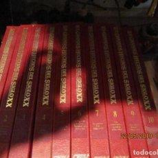 Libros de segunda mano: LOS GRANDES HECHOS DEL SIGLO XX ENCICLOPEDIA 10 TOMOS.. Lote 165348646