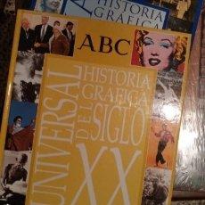Libros de segunda mano: HISTORIA GRÁFICA UNIVERSAL DEL SIGLO XX.. Lote 165992836