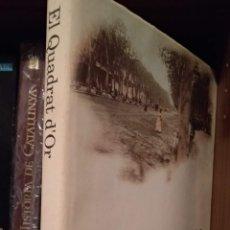 Libros de segunda mano: EL QUADRAT D'OR. Lote 166030733