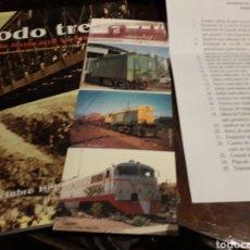 Libros de segunda mano: A TO-DO TREN 100 AÑOS DE FERROCARRIL ENERGY ALMERIA. Lote 166453989