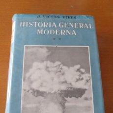 Libros de segunda mano: HISTORIA GENERAL MODERNA II - VICENS VIVES. Lote 166599704