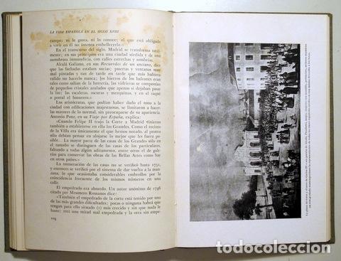 Libros de segunda mano: DÍAZ-PLAJA. Fernando - LA VIDA ESPAÑOLA EN EL SIGLO XVIII - Barcelona 1946 - Ilustrado - Foto 4 - 166974276