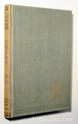 DÍAZ-PLAJA. FERNANDO - LA VIDA ESPAÑOLA EN EL SIGLO XVIII - BARCELONA 1946 - ILUSTRADO (Libros de Segunda Mano - Historia Moderna)