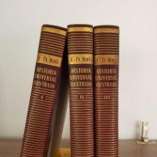 Libros de segunda mano: HISTORIA UNIVERSAL ILUSTRADA. VERGARA. 1957. Lote 167285576