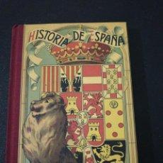 Libros de segunda mano: HISTORIA DE ESPAÑA POR D. JUAN BOSCH CUSI GRADO MEDIO. Lote 167474272