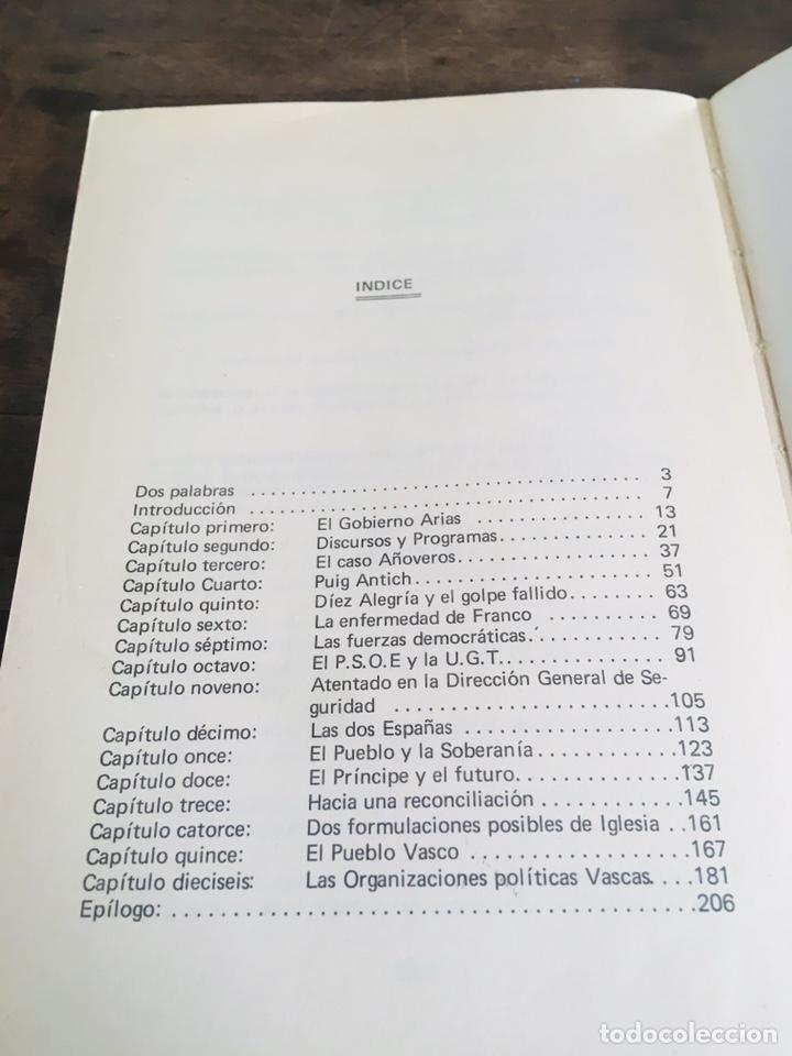 Libros de segunda mano: LA AGONÍA DEL FRANQUISMO LIBRO ANDONI UGARANA LARRUN EDICIONES ASKATASUNA 1975 - Foto 5 - 168377010