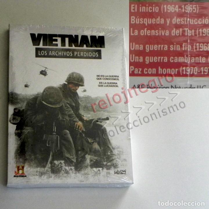 2 DVD PRECINTADO DOCUMENTAL VIETNAM LOS ARCHIVOS PERDIDOS GUERRA HISTORIA DE EEUU EJÉRCITO -NO LIBRO (Libros de Segunda Mano - Historia Moderna)