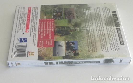 Libros de segunda mano: 2 DVD PRECINTADO DOCUMENTAL VIETNAM LOS ARCHIVOS PERDIDOS GUERRA HISTORIA DE EEUU EJÉRCITO -NO LIBRO - Foto 4 - 168380876