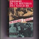 Libros de segunda mano: ENIGMAS DE LA HISTORIA DEL SIGLO XX. PEDIDO MÍNIMO EN LIBROS: 4 TÍTULOS. Lote 168394328