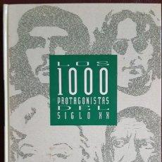 Libros de segunda mano: LOS 100 PROTAGONISTAS DEL SIGLO XX - COLECCIONABLE DE EL PAÍS (1992) ENCUADERNADO - VER FOTOS. Lote 168433536