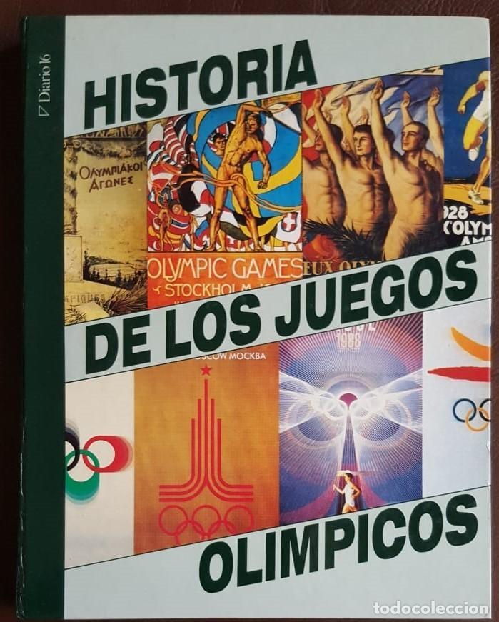 HISTORIA DE LOS JUEGOS OLÍMPICOS, COLECCIONABLE DE DIARIO 16 (1992) ENCUADERNADO (Libros de Segunda Mano - Historia Moderna)