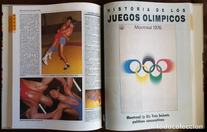 Libros de segunda mano: HISTORIA DE LOS JUEGOS OLÍMPICOS, COLECCIONABLE DE DIARIO 16 (1992) ENCUADERNADO - Foto 4 - 168434196