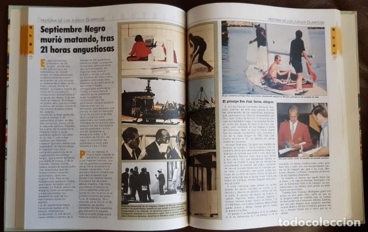 Libros de segunda mano: HISTORIA DE LOS JUEGOS OLÍMPICOS, COLECCIONABLE DE DIARIO 16 (1992) ENCUADERNADO - Foto 5 - 168434196