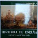 Libros de segunda mano: HISTORIA DE ESPAÑA RAMÓN MENÉNDEZ. PIDAL, TOMO 28. LA TRANSICIÓN DEL S. XVII AL XVIII. . Lote 168515180