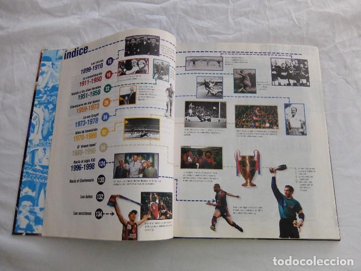 Libros de segunda mano: EL SIGLO DEL BARÇA-100 AÑOS DE IMÁGENES - Foto 4 - 168594660