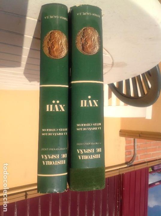 Libros de segunda mano: HISTORIA DE ESPAÑA MENÉNDEZ PIDAL Tomo XVII. La España de los Reyes Católicos. - Foto 2 - 168784568