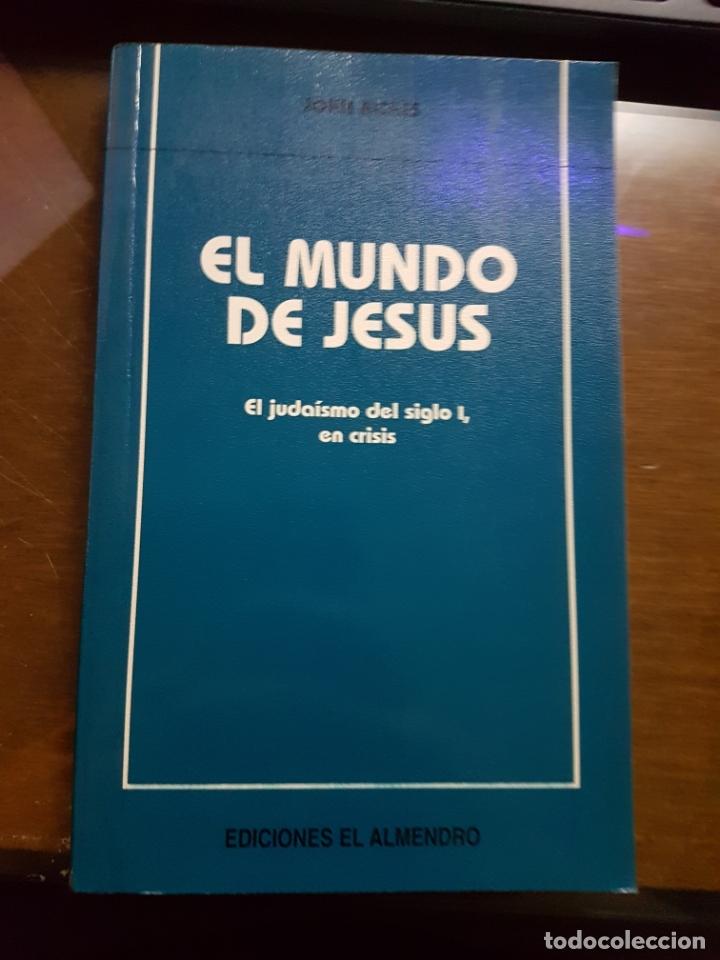 EL MUNDO DE JESÚS: EL JUDAÍSMO DEL SIGLO I EN CRISIS - JOHN RICHES (Libros de Segunda Mano - Historia Moderna)