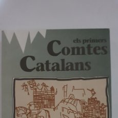 Libros de segunda mano: ELS PRIMERS COMTES CATALANS RAMON D'ABADAL VOLUM 1 HISTORIA DE CATALUNYA. Lote 168976380