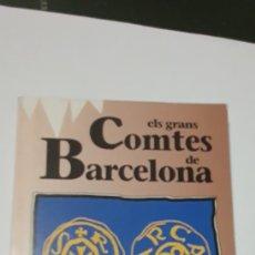 Libros de segunda mano: ELS GRANS COMTES DE BARCELONA SANTIAGO SOBREQUES HISTORIA DE CATALUNYA VOLUM 2. Lote 168976428