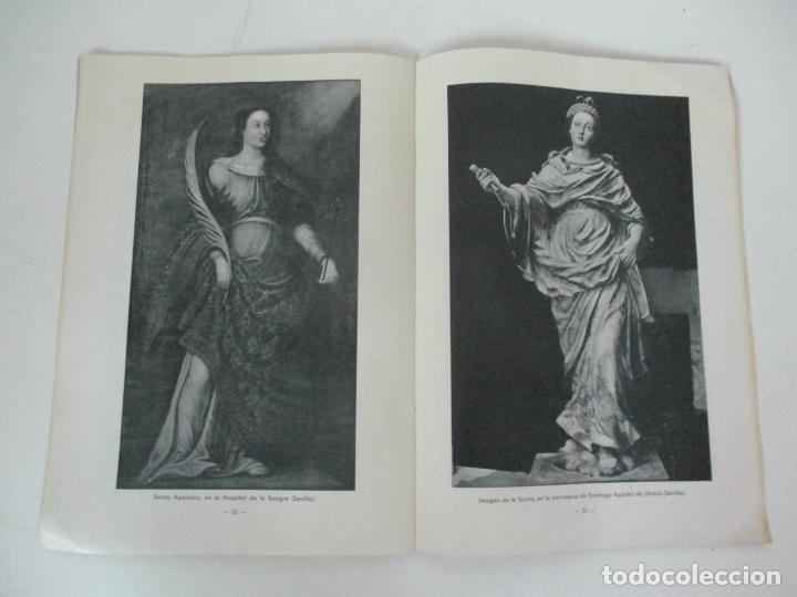 Libros de segunda mano: Santa Apolonia Patrona de los Dentistas - Dr R. Arqués - Tip Catalana - Año 1945 - Foto 5 - 169000200