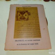 Libros de segunda mano: ALCARAZ: UN ENCLAVE CASTELLANO EN LA FRONTERA DEL SIGLO XIII. AURELIO PRETEL MARIN. ALBACETE. 1974.. Lote 169008192